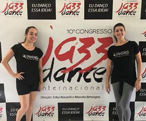 DANZARIA PARTICIPA DO CONGRESSO DE JAZZ DANCE